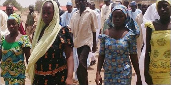 Mujeres Boko Haram