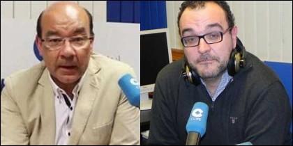 Ángel Expósito y Juan Pablo Colmenarejo.