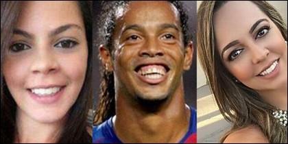 Las mujeres de Ronaldinho