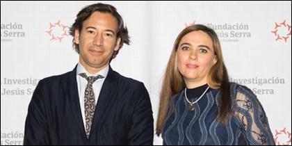 Los doctores Guadalupe Sabio y Pablo Pérez