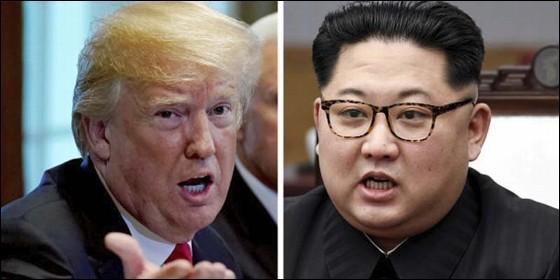 Donald Trump (EEUU) y Kim Jong Un (COREA DEL NORTE).