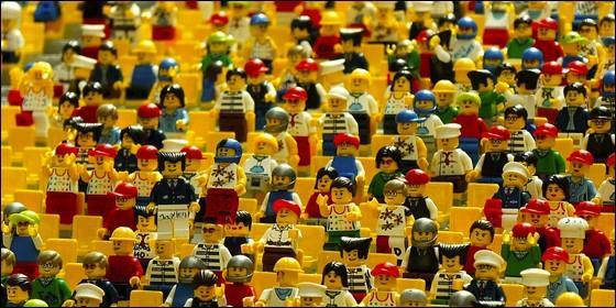 Muñecos de Lego.