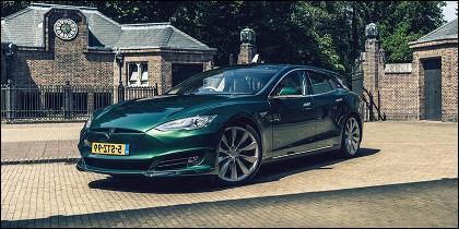 Tesla Model S 'shooting brake'
