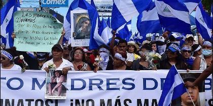 Manifestación en Nicaragua