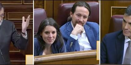 Mariano Rajoy, Pedro Sánchez y los dueños de un casoplón.
