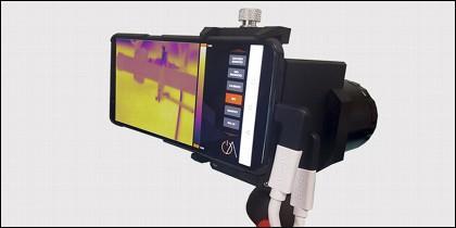 La nueva cámara detectora de gas