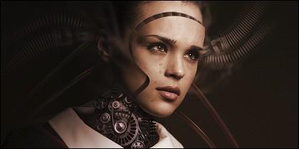 La inmortalidad de los humanos transferidos a robots.