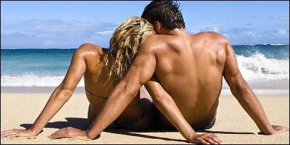 Playa, vacaciones, turismo, ocio y ligue.