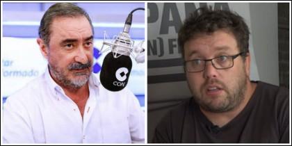 Carlos Herrera e Isidro López.