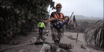 Cáritas socorra a las víctimas del volcán de Fuego