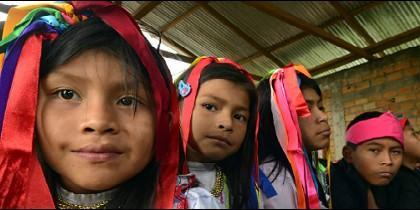'Huellas de ternura', caminata a favor de la niñez en América Latina