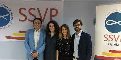 Los responsables del II Encuentro Internacional de la Juventud de la SSVP