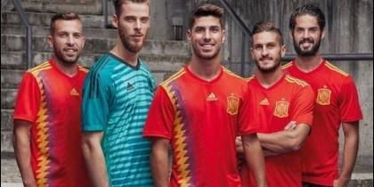 Camiseta Selección Española Mundial 2018