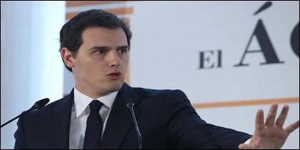 El presidente de Ciudadanos, Albert Rivera (CS).