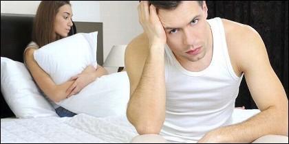 Depresión sexual, impotencia y gatillazo.
