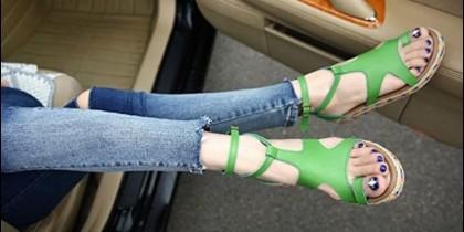 Tendencias de sandalias para mujer, verano 2018