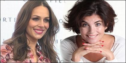 Eva González y Samanta Villar.