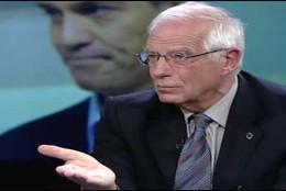 Josep Borrell, ministro de Exteriores en el Gobierno de España presidido por Pedro Sánchez.