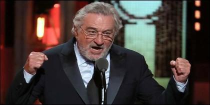 Robert De Niro fue más que gráfico para referirse a Donald Trump en los Premios Tony.