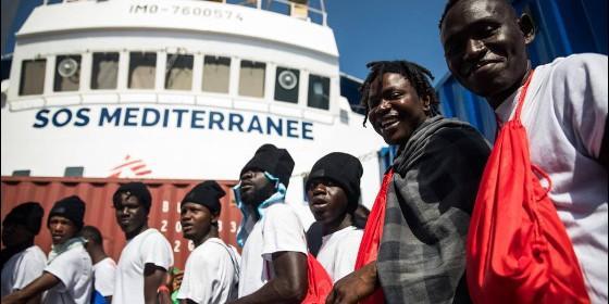 Los inmigrantes del 'Aquarius'