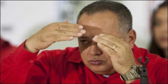 El chavista Diosdado Cabello.