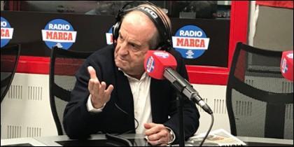José María García rajando contra todos.