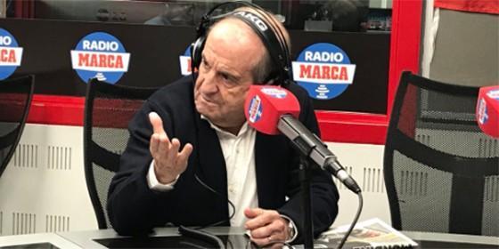 La descomunal rajada de José María García contra Florentino y Lopetegui: `Julen automáticamente ha dejado de ser mi amigo`