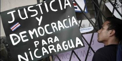 Justicia y democracia para Nicaragua