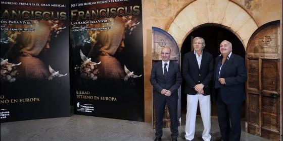 Andoni Aldekoa, Alejandro Roemmers y José Luis Moreno