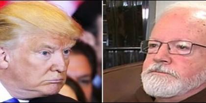 El presidente Trump y el cardenal O'Malley