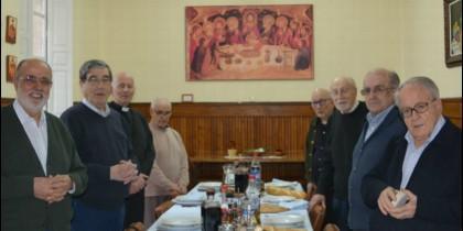 Miembros de la comunidad jesuita de Palencia