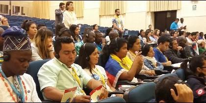 Jóvenes de todo el mundo abren el II Encuentro Internacional de la SSVP en Salamanca