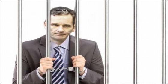 Un meme sobre Iñaki Urdangarín en la cárcel, de los circulan por internet.