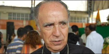 Monseñor Eugenio Arellano, obispo de Esmeraldas