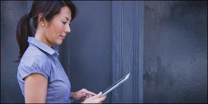 Lectura en tablet y móvil.