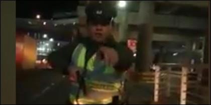 Uber y el policía