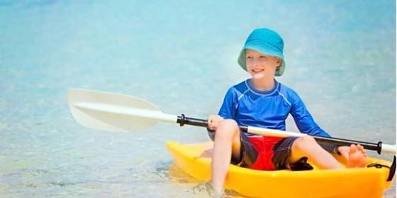 Ropa de protección solar para niños