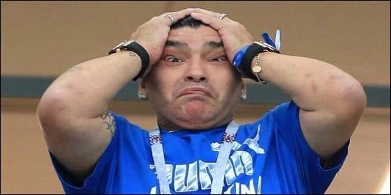 Maradona insulta a su sobrino en programa en directo — Escándalo