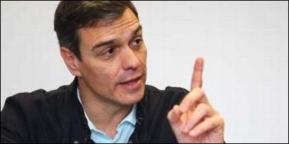 El presidente del Gobierno, Pedro Sánchez (PSOE).
