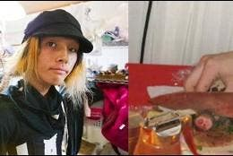 El chef japonés Mao Sugiyama y su 'menú' hecho con sus propios genitales.
