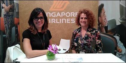 Singapore Airlines en Expo Turismo
