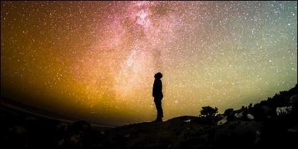 Ser humano y cosmos.
