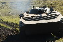 Vehículo militar blindado