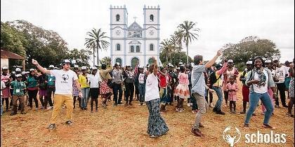 Encuentro de Scholas en Mozambique