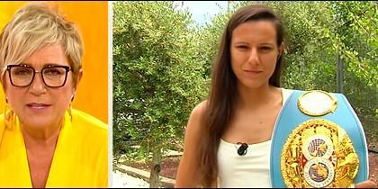 Ines Ballester y Joana Pastrana