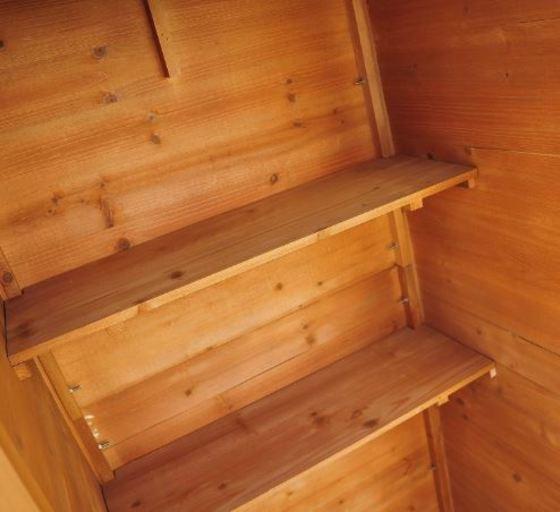 Casetas de madera para jard n desde 85 ocio y cultura for Paredes de madera para jardin