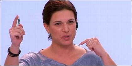 La tuitera Beatriz Talegón.