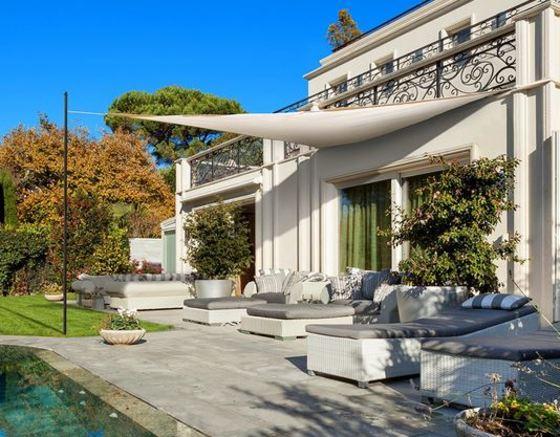 Toldos vela para jardines y terrazas desde 20 euros for Ojales para toldos