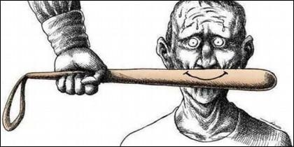 Censura, represión, silencio, prensa, televisión, propaganda.