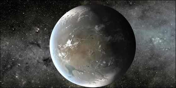 Planeta habitable similar a la Tierra